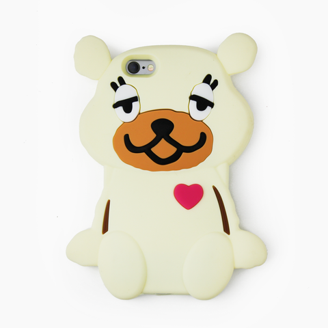 Beige Teddy Bear iPhone Case - By Dominic  - 1