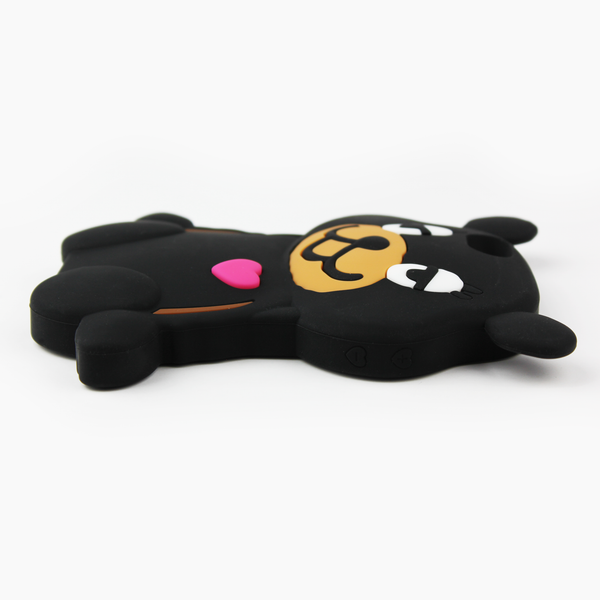 Black Teddy Bear iPhone Case - By Dominic  - 4
