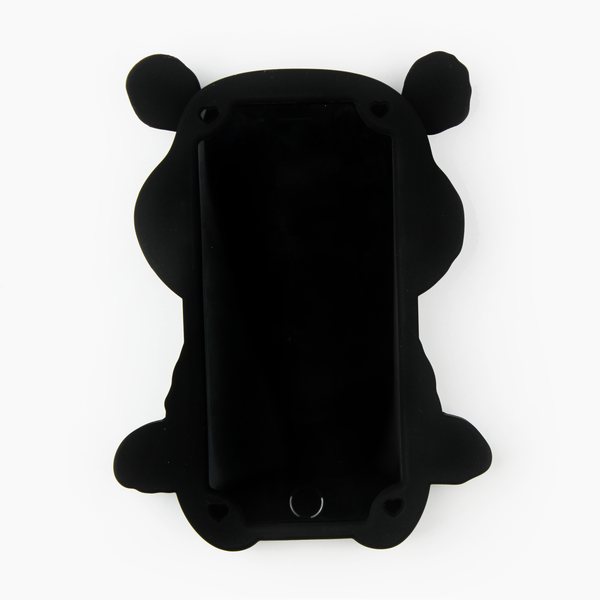Black Teddy Bear iPhone Case - By Dominic  - 2