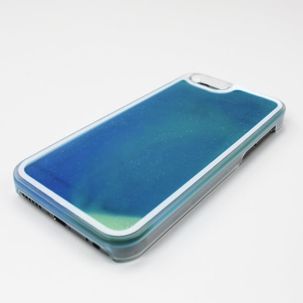 Blue Glow in the Dark Liquid iPhone Case - By Dominic  - 2