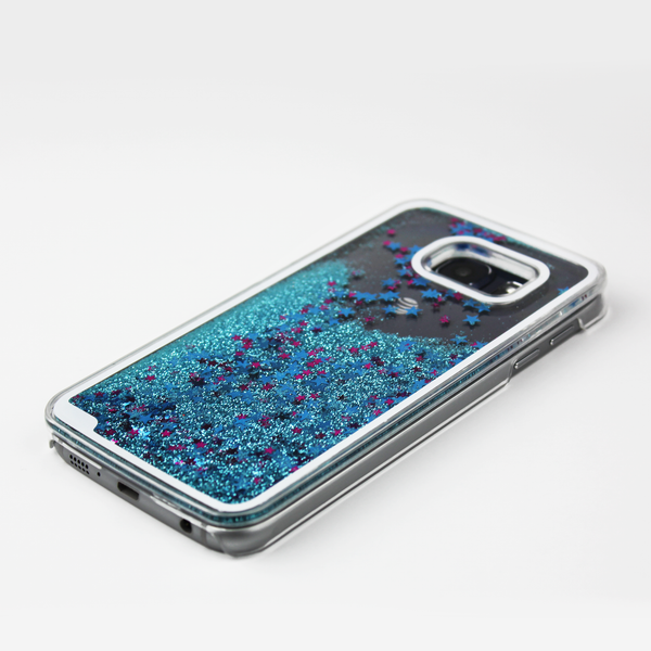 Blue Liquid Waterfall Samsung Case - By Dominic  - 2