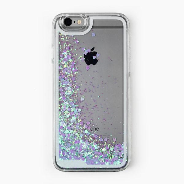 Blue Holographic Hearts Case - By Dominic  - 1