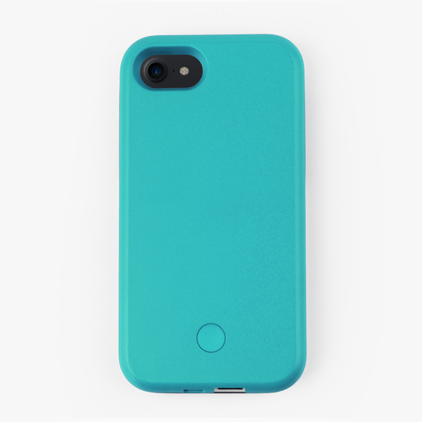 Blue Light Up Selfie iPhone Case