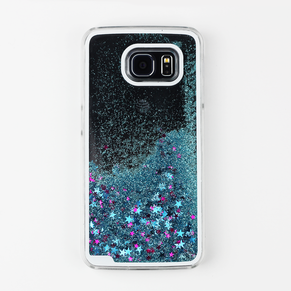 Blue Liquid Waterfall Samsung Case - By Dominic  - 1