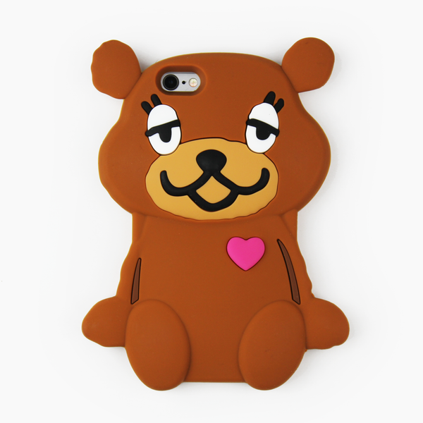 Brown Teddy Bear iPhone Case - By Dominic  - 1
