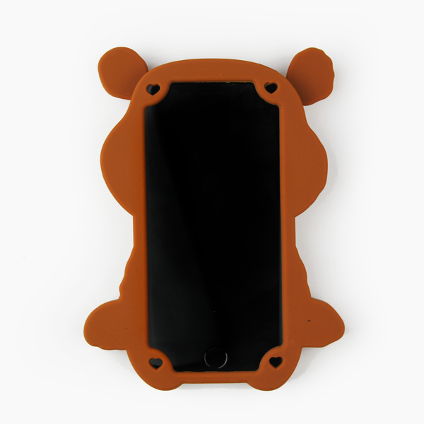 Brown Teddy Bear iPhone Case - By Dominic  - 2