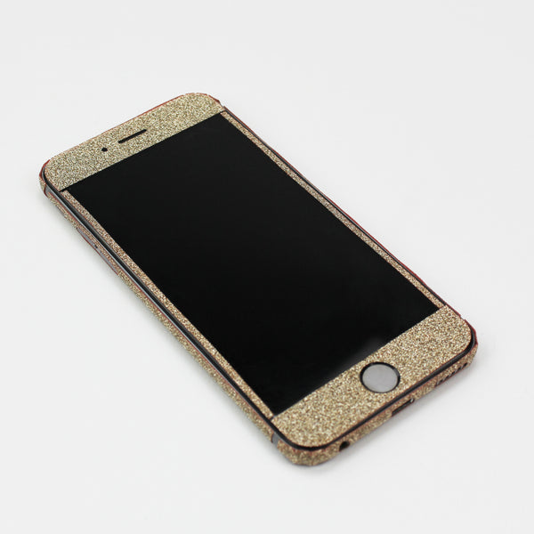Gold Glitter iPhone Decal - By Dominic  - 2