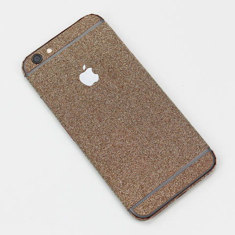 Gold Glitter iPhone Decal - By Dominic  - 1