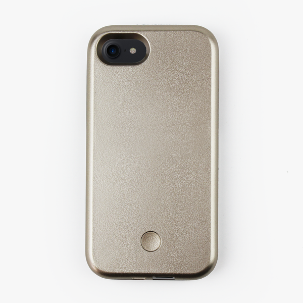 Gold Light Up Selfie iPhone Case