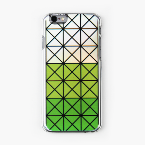 Green Geometric Holographic iPhone Case - By Dominic  - 1