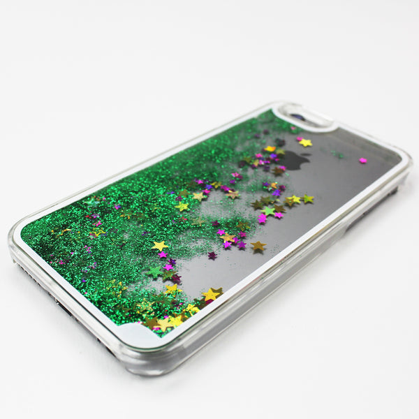 Green Liquid Waterfall iPhone Case - By Dominic  - 1
