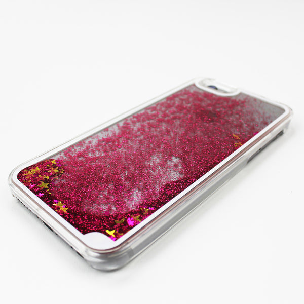 Pink Liquid Waterfall iPhone Case - By Dominic  - 1
