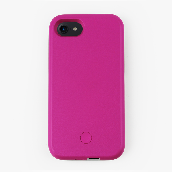 Pink Light Up Selfie iPhone Case