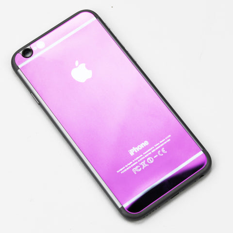 Purple Tempered Glass iPhone Protective - By Dominic  - 1