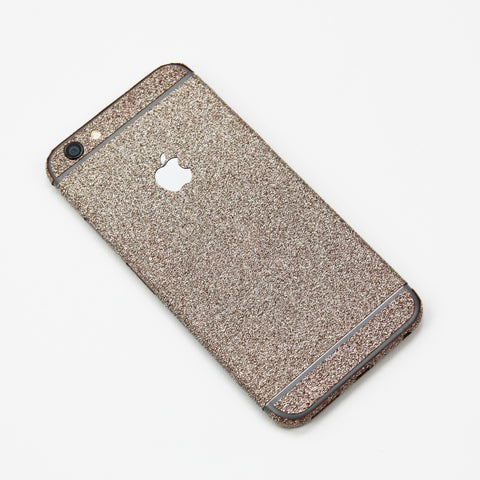 Rose Gold Glitter iPhone Decal - By Dominic  - 1