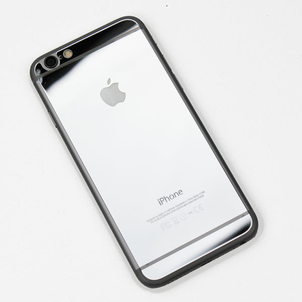 Silver Tempered Glass iPhone Protective - By Dominic  - 1