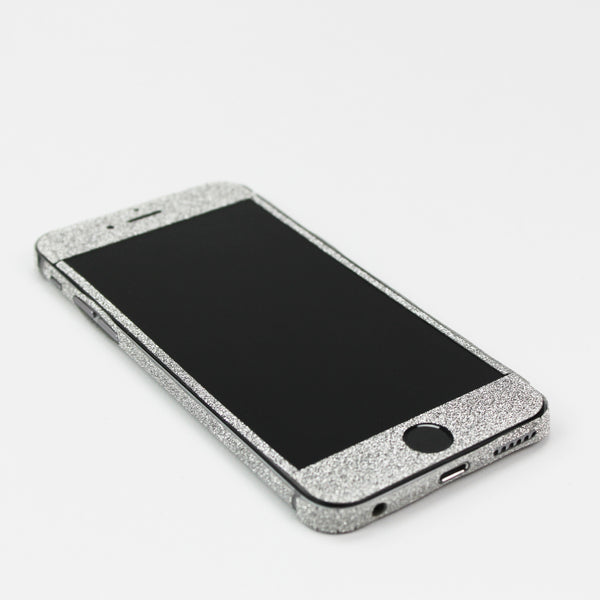 Silver Glitter iPhone Decal - By Dominic  - 2