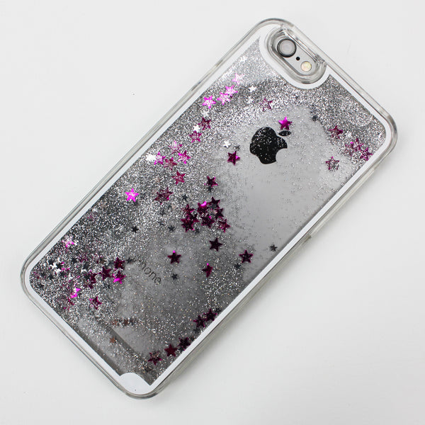 Silver Liquid Waterfall iPhone Case - By Dominic  - 2