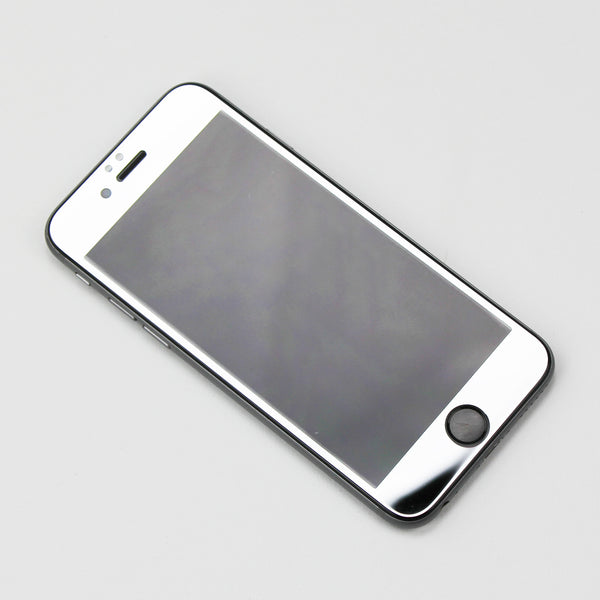 Silver Tempered Glass iPhone Protective - By Dominic  - 2