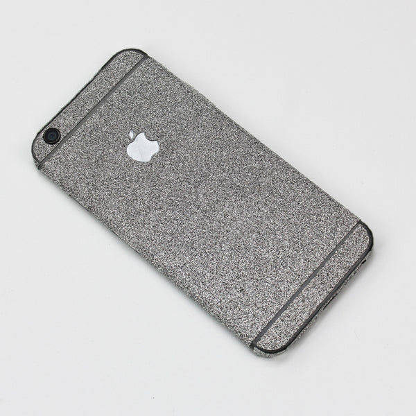 Silver Glitter iPhone Decal - By Dominic  - 1