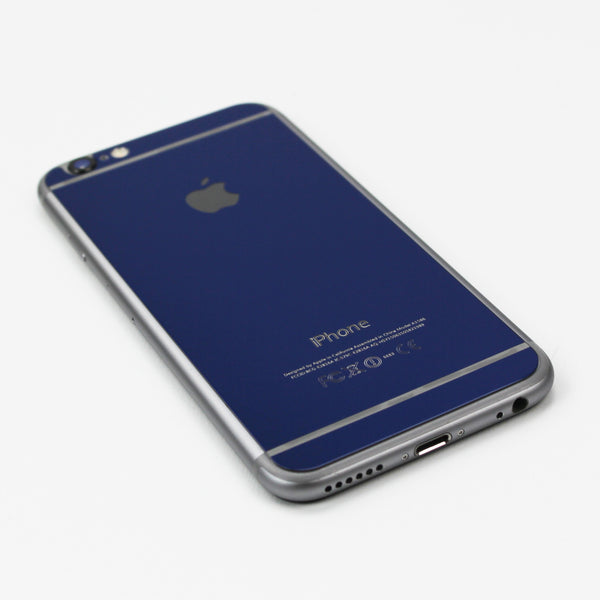 Blue Tempered Glass iPhone Protective - By Dominic  - 3