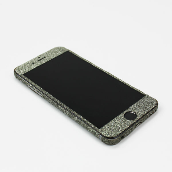 Charcoal Glitter iPhone Decal - By Dominic  - 2