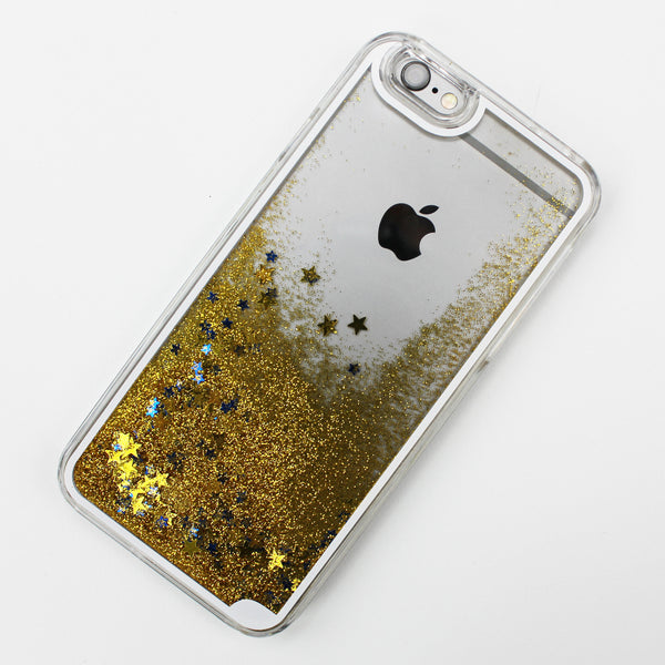 Gold Liquid Waterfall iPhone Case - By Dominic  - 2