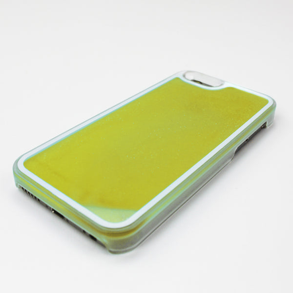Yellow Glow in the Dark Liquid iPhone Case - By Dominic  - 2