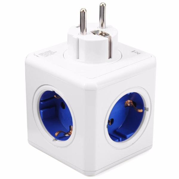 Creative Multi-outlet Power Cube Socket