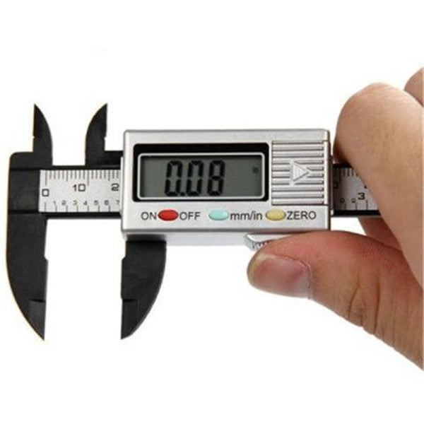 100 mm Digital Vernier Caliper Micrometer Gauge Electronic Accurate Measuring Ruler-Rama Deals