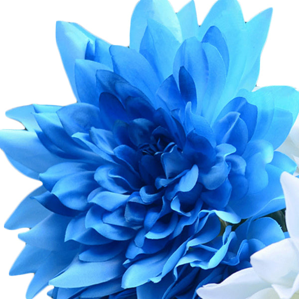 10 seeds Blue Dahlia Seeds-Rama Deals