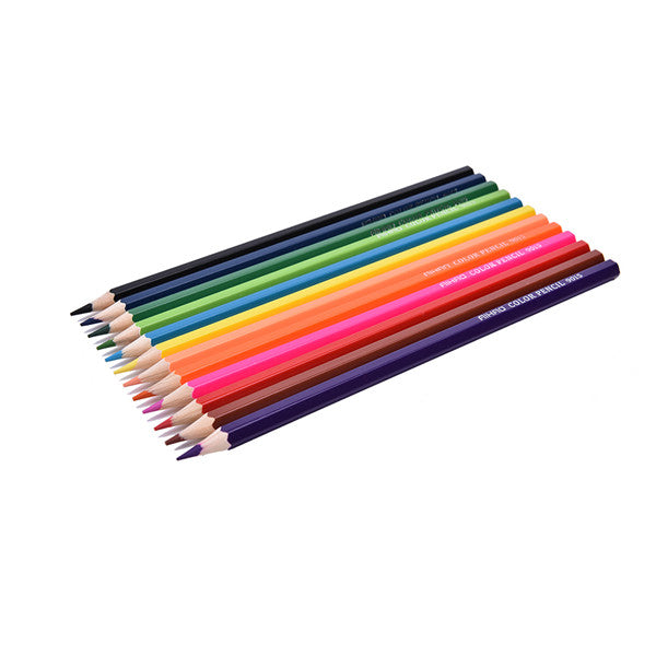 Clearance 12 Colors/Set Artist Professional Drawing Pencil Box Cases Mini Stationary-Rama Deals