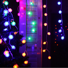 50 LED Snow Beads String Lights - Rama Deals - 1