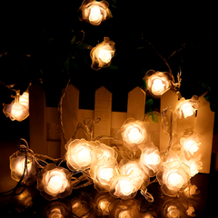 LED Rose String Lights - 4M - Rama Deals - 1