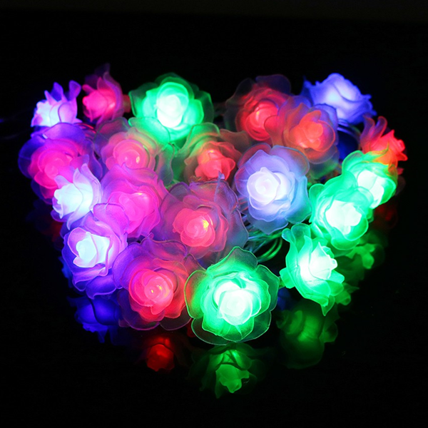 LED Rose String Lights - 4M - Rama Deals - 2