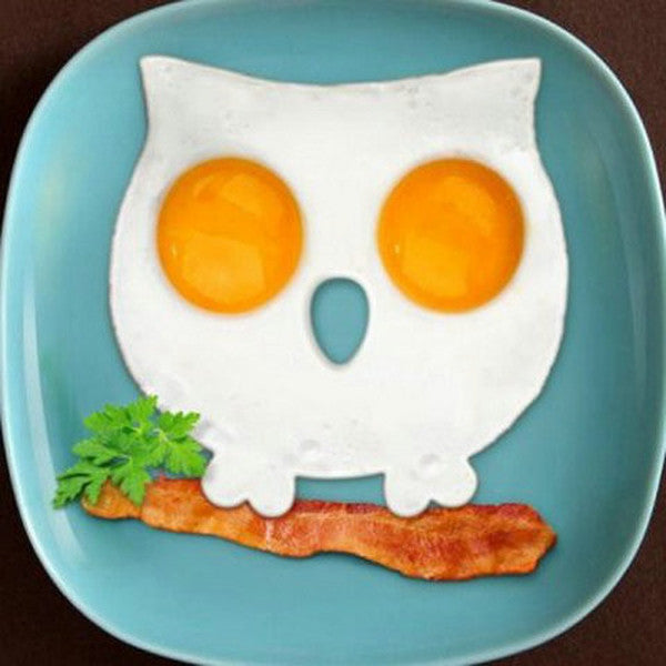 Owl Shape Silicone Egg Frying Mould Frying Pancake Mold-Rama Deals