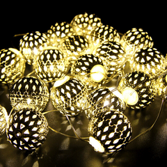 20 LED Lantern String Lights - Rama Deals