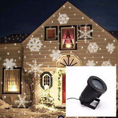 Christmas Laser Light Waterproof Projector - SnowFlake Effect - Rama Deals - 1