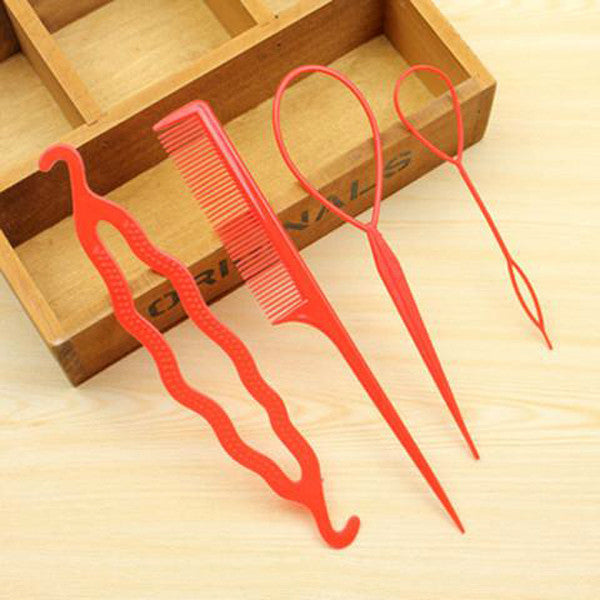 Hair Twist Styling Clip Stick Set-Rama Deals