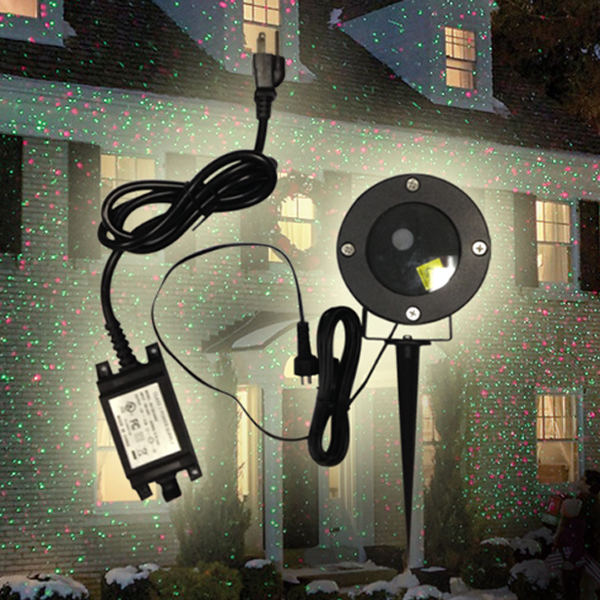 Dual Color Christmas Light Projector - Waterproof Only - Rama Deals - 2