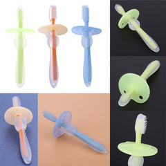 Silicone Kids Teether Training Toothbrushes-Rama Deals