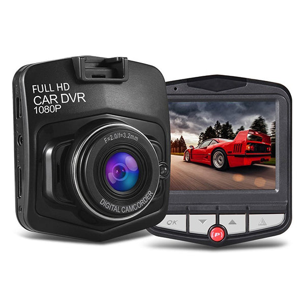 CAR GT300 Full 1080p HD DVR Dash Camera With Night Vision - Black or Blue-Rama Deals