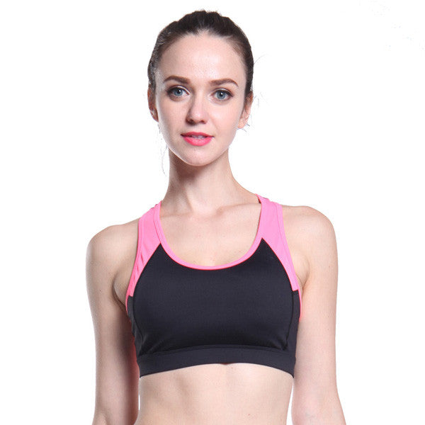 Running Fitness Shockproof Sports Bra For Ladies-Rama Deals
