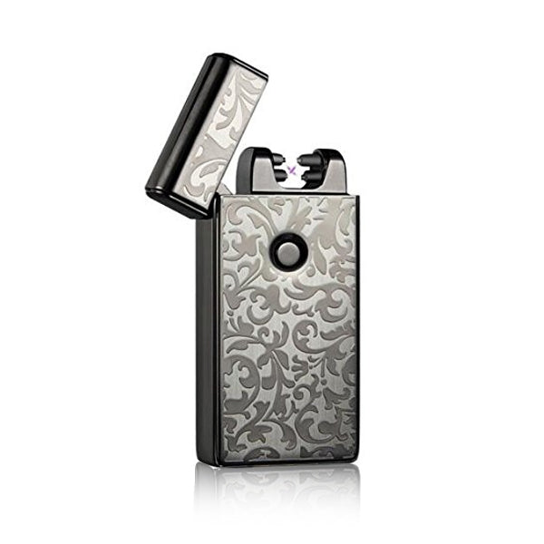 Electronic USB Charging Ultra Thin Windproof Lighters-Rama Deals