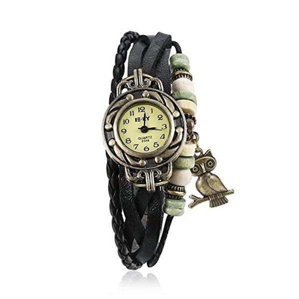 Clearance Owl Vintage Wrap Watch-Rama Deals