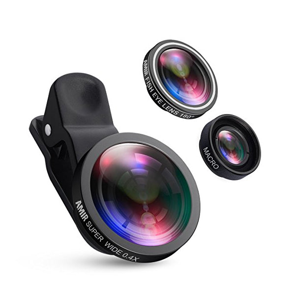 Clearance Smartphone Clip-On Lenses - Assorted Colors-Rama Deals