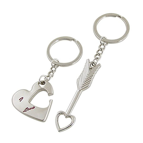 Cupid Arrow Couple's Key Chain Set-Rama Deals