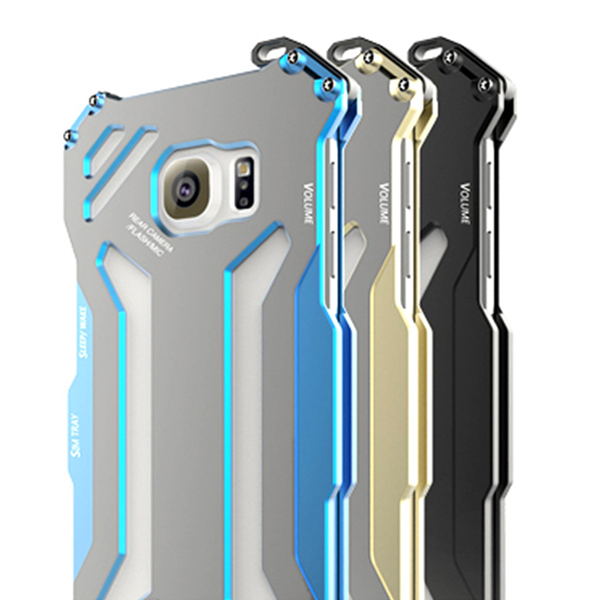 Original Transformer Carbon Fiber Metal Frame Aluminum Case for Samsung S7 & S7 Edge - CELLRIZON  - 1