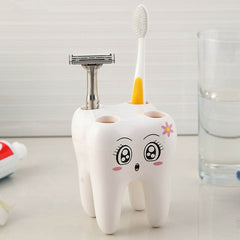 4 Hole Stand Tooth Brush Shelf
