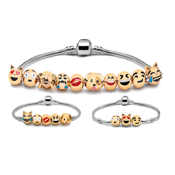 Clearance Emoticon Bracelet II-Rama Deals
